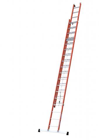 Echelle coulissante isolante 2 plans à corde 4332