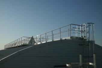 Passerelle de toit