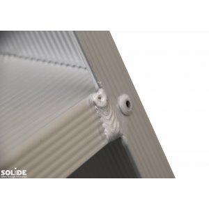 Marchepied simple accès PT avec couche de polyester